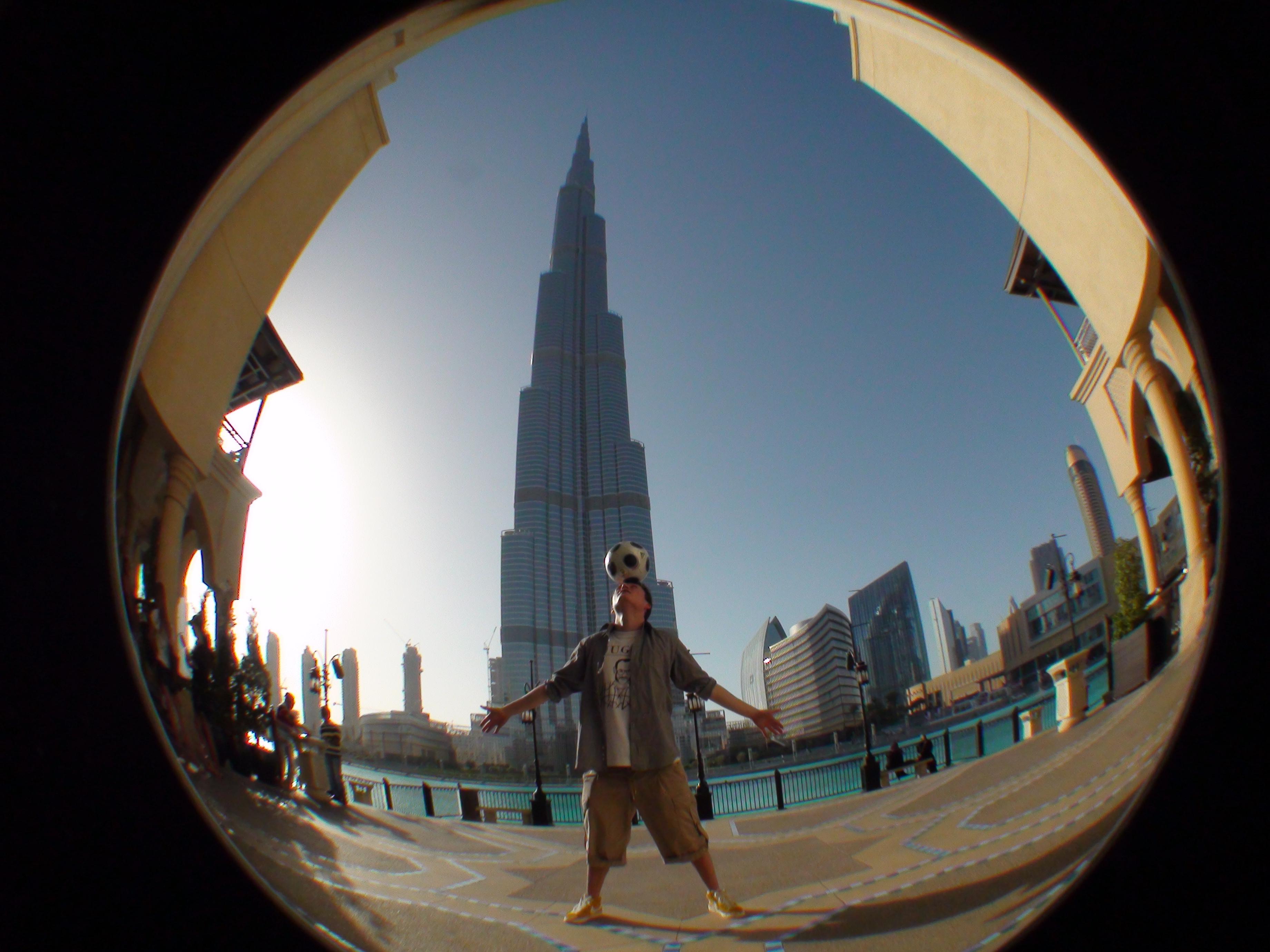 Fussball Freestyle Trick | Dubai