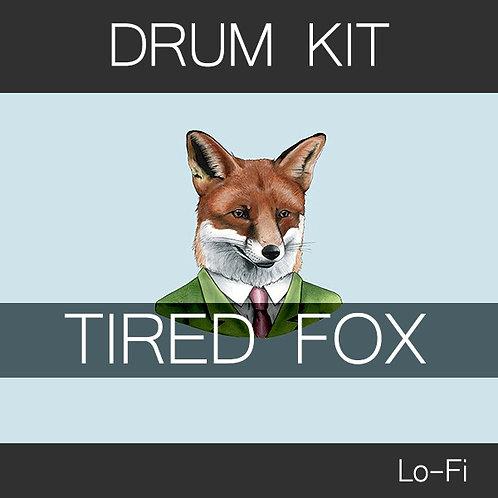 Tired fox