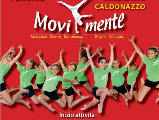 Movi-mente riprende l'attività con ginnastica artistica femminile per ogni età e gioca gin per bimbi