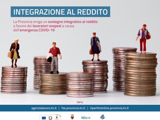 C'è tempo fino al 31 ottobre per presentare la domanda di integrazione al reddito