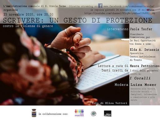 Sant'Orsola: domani appuntamento contro la violenza sulle donne via streaming