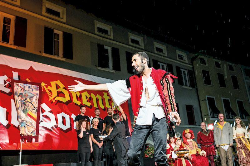 Matteo Chincarini al Palio dela Brenta
