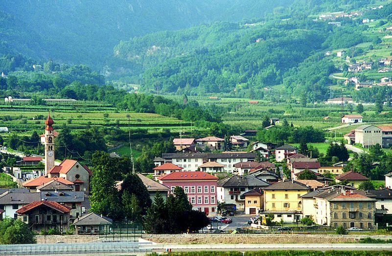 Una veduta di Castelnuovo