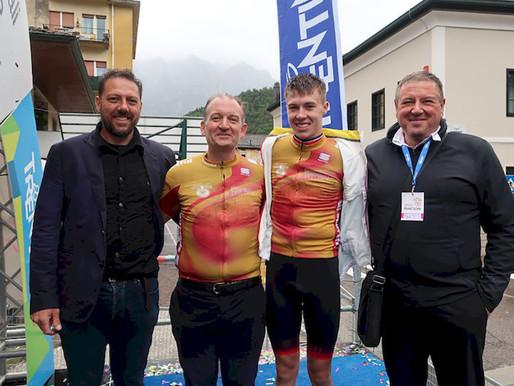 Stefano Casagranda  «La Coppa d'Oro? Una delle gare più belle nella carriera di un ciclista»
