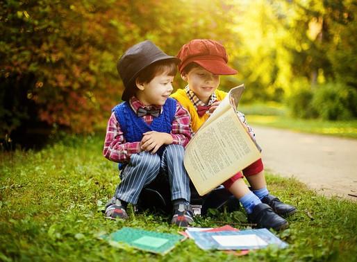 Letture d'estate per bambini al Parco della Pace di Pergine
