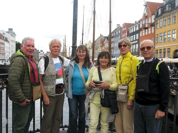 Il gruppo di valsuganotti a Copenaghen