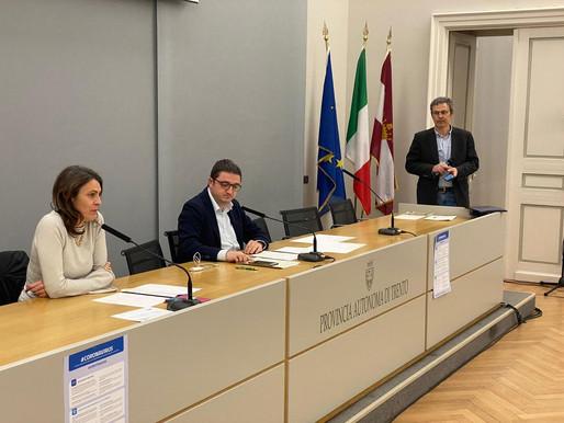 Coronavirus: oggi altri 4 morti in Trentino, salgono a 378 i positivi