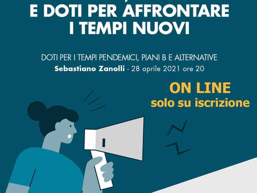 """""""Doti per i tempi pandemici: piani B e alternative"""" Evento online della CRVT con Sebastiano Zanolli"""