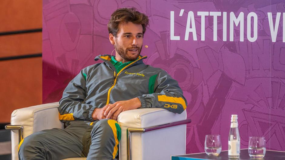 Al Festival dello Sport Ruggero Tita rivive l'emozione della medaglia d'oro a Tokyo