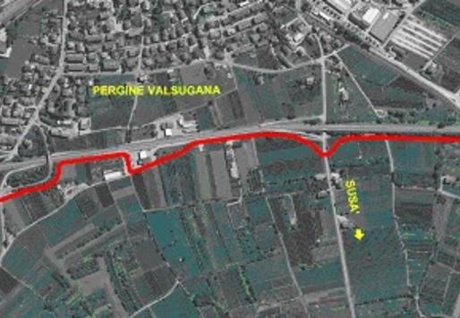 Pergine: al via i lavori per il tratto della ciclopedonale tra Canale e Fornaci