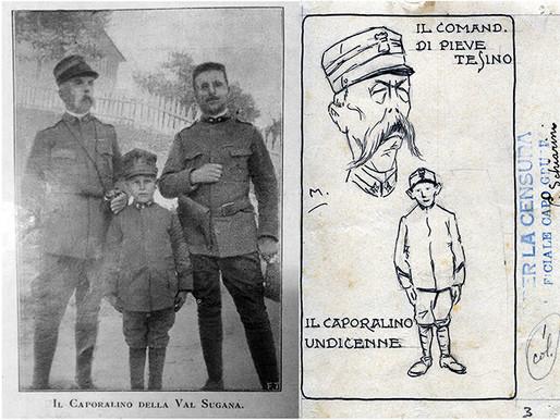 Ilario Pecoraro: il caporalino della Valsugana (1915-1917)