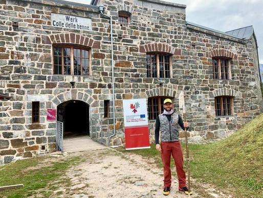 Euregio, partito da Levico il Bastone dei Musei, domani arriverà a Cavalese