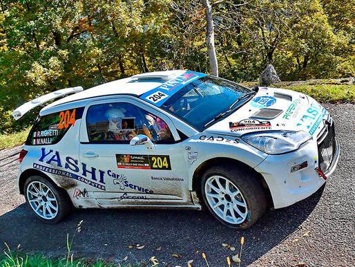 Pintarally Motorsport: a podio assoluto con Roberto Righetti al Rally Due Valli