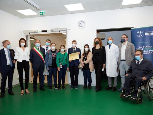 Pergine: il ministro Stefani visita l'ospedale riabilitativo Villa Rosa e il Centro clinico NeMO