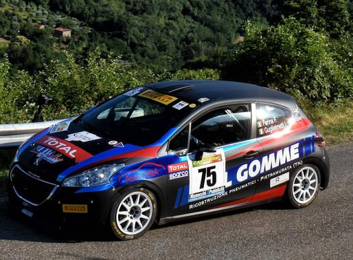 Prima uscita della scuderia Pintarally M. al rally del Casentino con Fabio Farina
