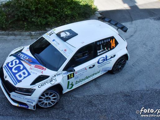 Pedrini sul podio allo Slalom 7 Tornanti, Grani nono al Rally del Friuli