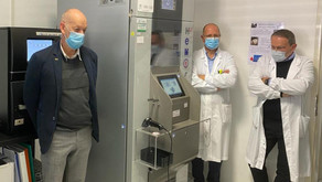 Borgo Valsugana: l'Ail ha donato all'ospedale San Lorenzo una frigoemoteca