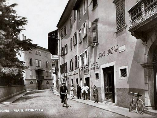 Viaggio nel Borgonuovo di Pergine fra bei palazzi e tante attività storiche