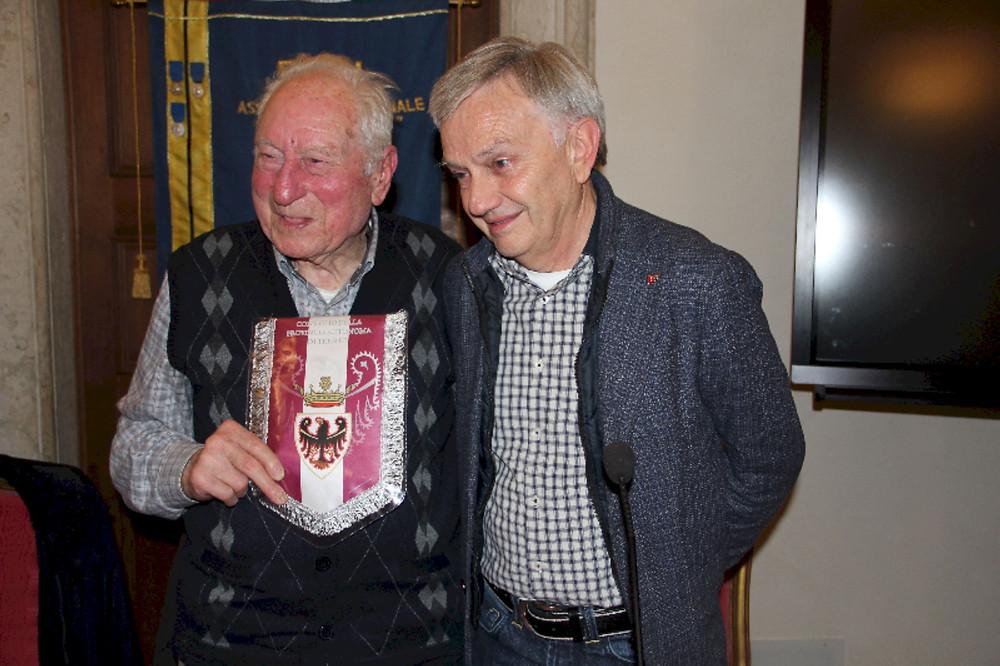 Bruno Bertoldi e Walter Kaswalder