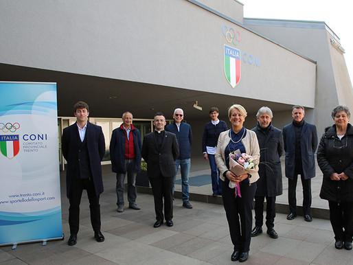 Paola Mora confermata alla guida del CONI Trento