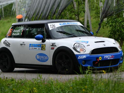 """Zucol-Zucol """"battesimo"""" con podio al Rally del Bellunese"""