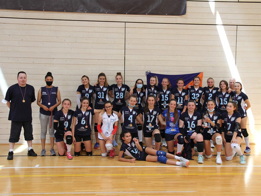 Il Lakes Volley Blu di Levico Caldonazzo vince il campionato provinciale Under 16