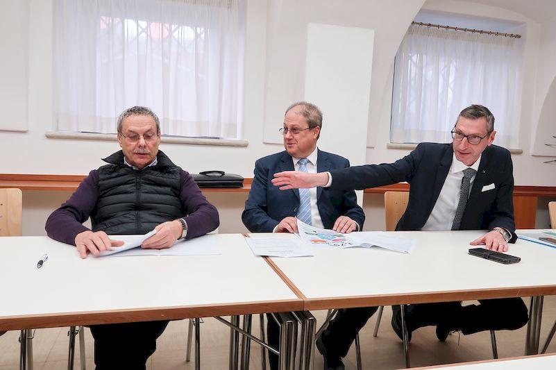 Franco Senesi, Massimo Tarter e Daniele Lazzeri