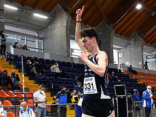 A Bergamo Aldo Andrei realizza il record assoluto trentino sui 10 km