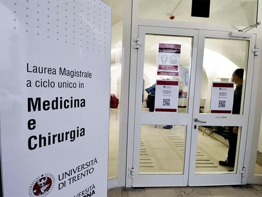 Università di Trento, nuova dimensione per l'area medica