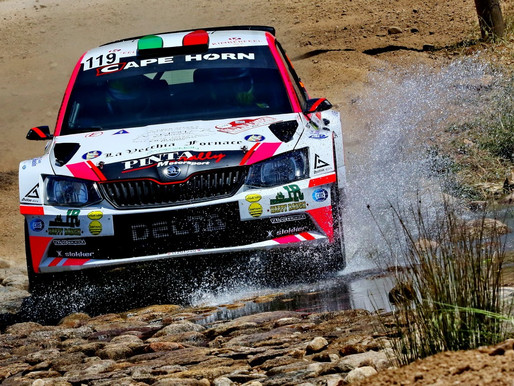 Per il primierotto Bancher 18esimo assoluto nel Rally Italia Sardegna