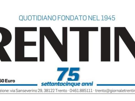 """Il quotidiano """"Trentino"""" chiude: domani l'ultima volta in edicola"""