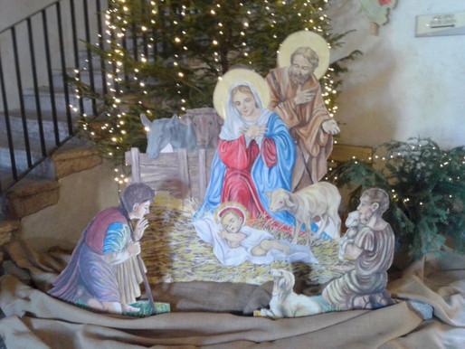 Pergine. COPI e Amici del Presepio salvano il Natale: presepi nei negozi e nella chiesa dei Frati