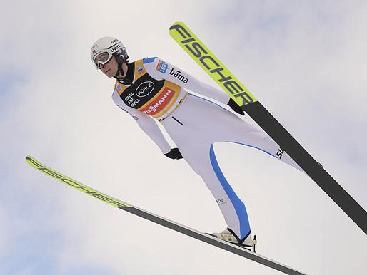 Un 'Magnus' Riiber in Val di Fiemme. Herola e Geiger a completare il podio di combinata