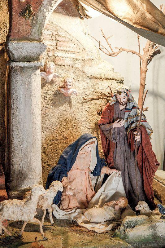 Una delle opere in mostra a Pergine