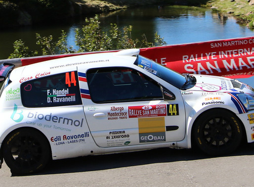 Un rally di San Martino stregato per i piloti della Pintarally Motorsport