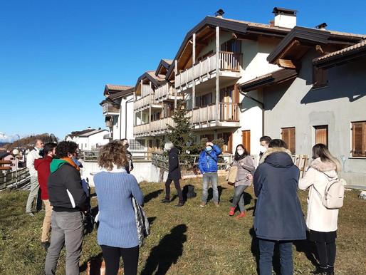 Luserna: è iniziata oggi la nuova vita per le 4 famiglie del progetto Coliving