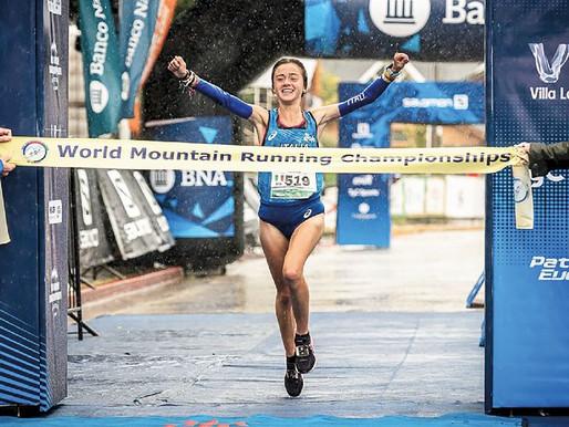 Che forza Angela Mattevi, la campionessa del mondo