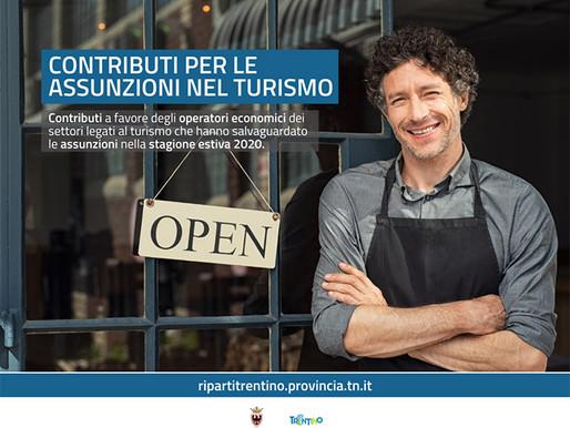 Contributi per chi ha assunto nel turismo: al via la presentazione delle domande