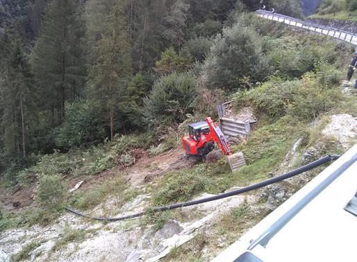 Siror: consegnati oggi i lavori di ripristino della SS 50 danneggiata dalla tempesta Vaia