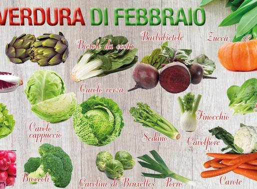 La frutta e verdura di stagione che ci fa stare bene
