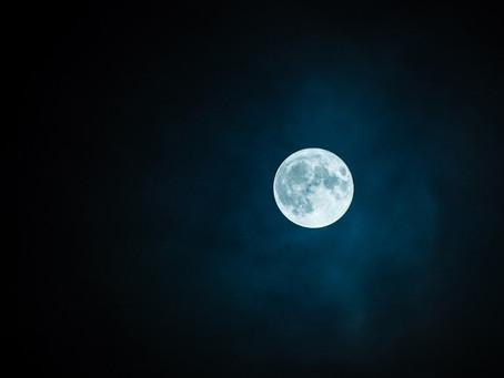 Oggi una bellissima Luna Piena in Scorpione