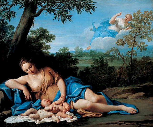La nascita di Apollo e Artemide