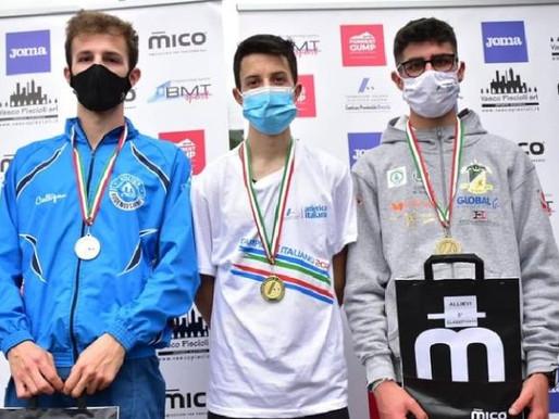 Francesco Ropelato è campione italiano allievi di corsa in montagna