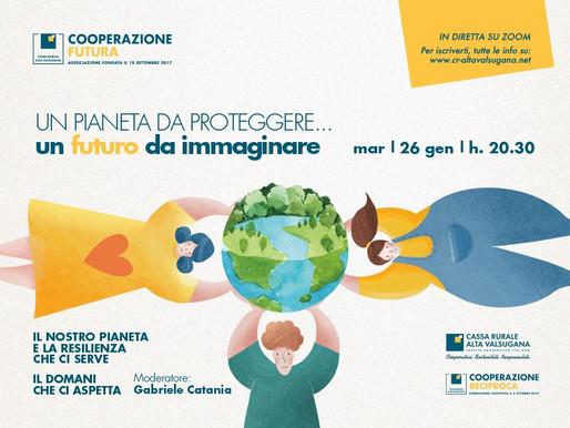 """""""Un pianeta da proteggere, un futuro da immaginare"""": martedì evento di CooperAzione Futura-CRAV"""