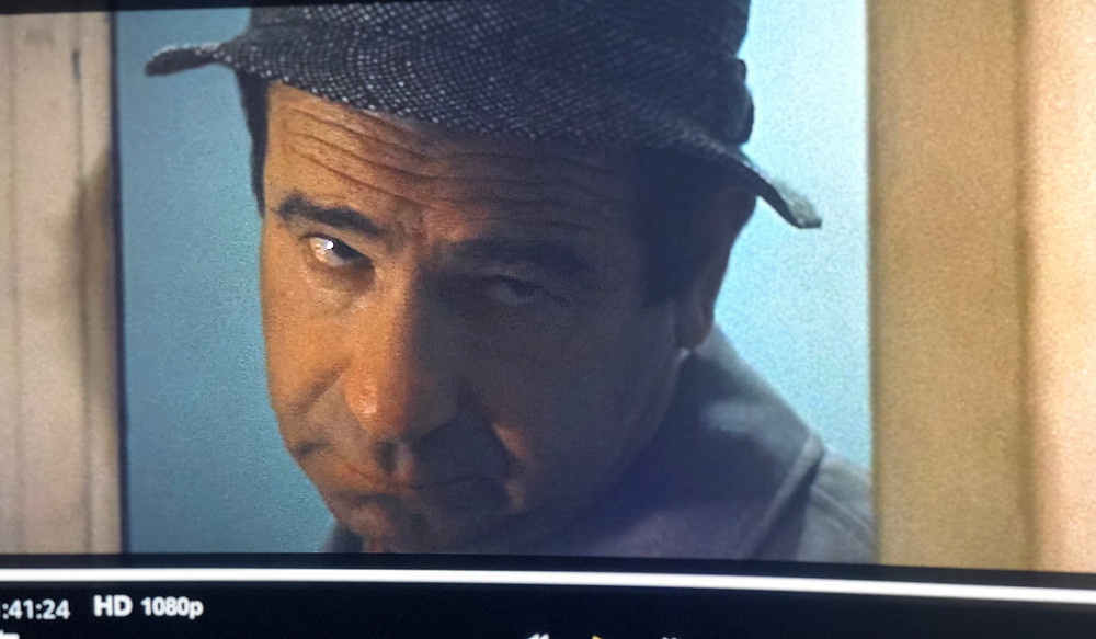 Photo of late actor Walter Matthau from movie The Taking of Pelham 123