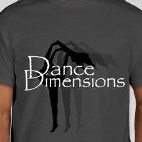 Dark Gray Dimensions Tee