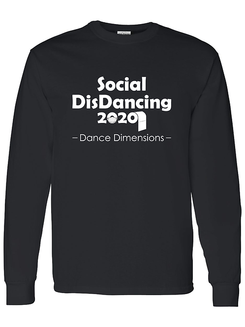 Black SocialDisDance Long Sleeve