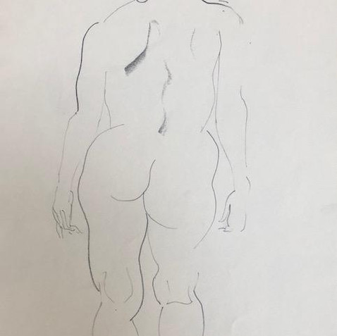Nude Drawing No. 27