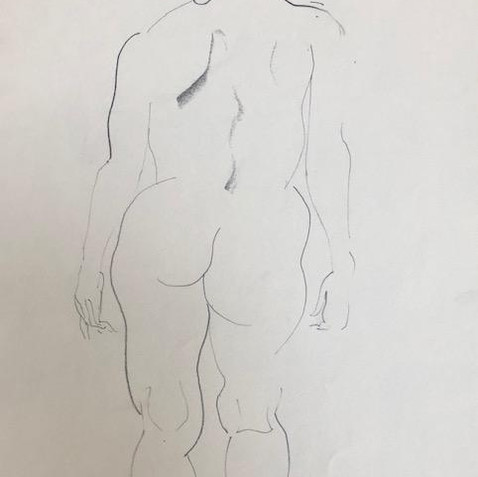 Nude Drawing No. 27
