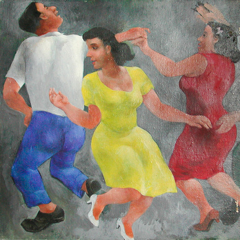 Dancing Girls, c. 1940